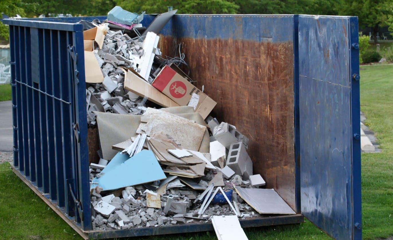 Как правильно считать объем строительного мусора