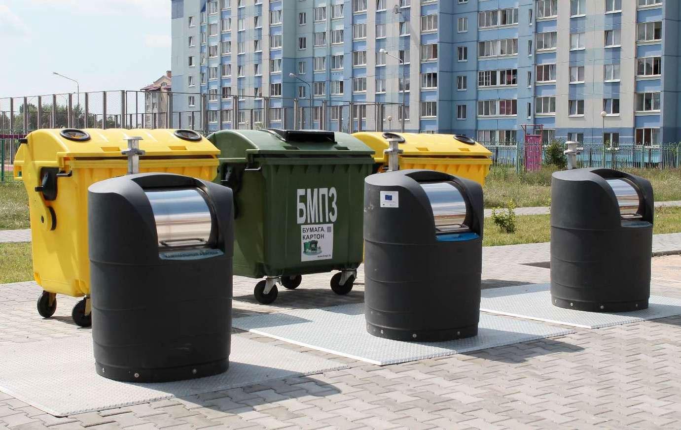 вывоз мусора из многоквартирного дома