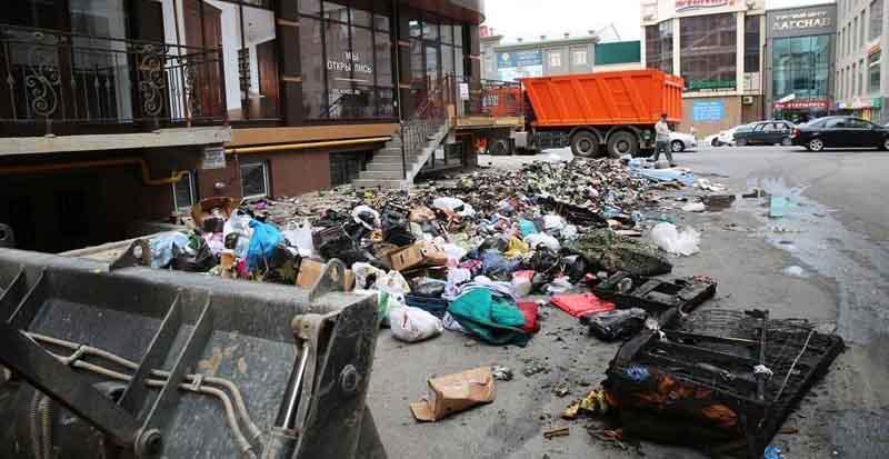 как сжечь мусор в городе правила