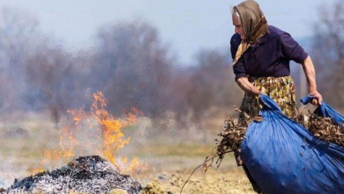как сжечь мусор в огороде (огородный мусор)