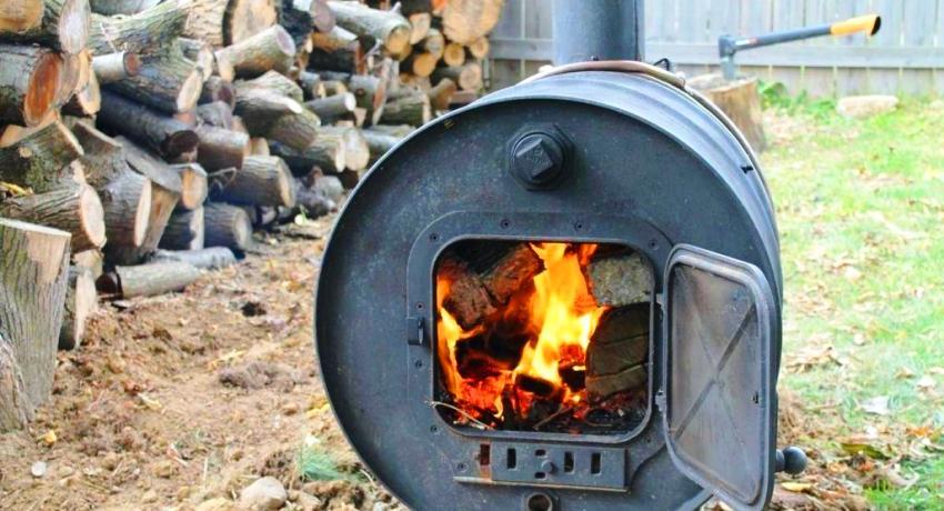 как на даче сжигать мусор без дыма