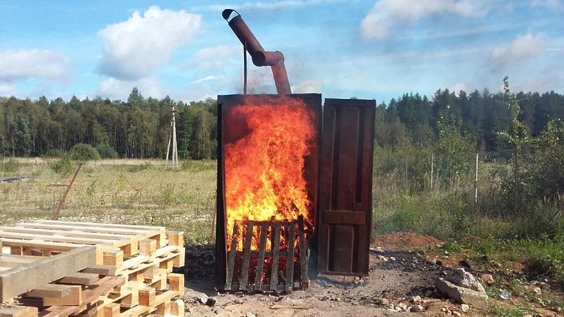 как сжигать мусор на даче в бочке дачном участке, садовом участке, в СНТ