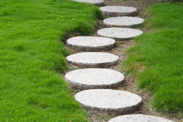 дорожки из цементной крошки