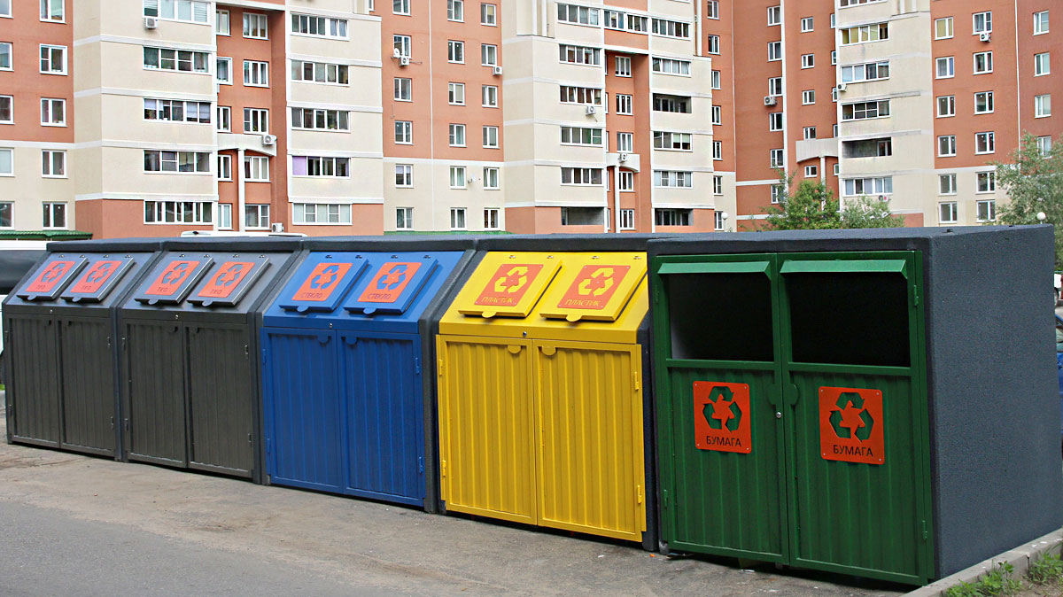 как установить контейнерную площадку для сбора тбо, тко, мусора