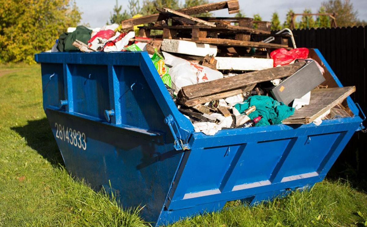 Как вывозить строительный мусор из частного дома