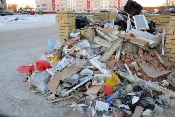 Как заказать контейнер для вывоза строительного мусора: виды и объем контейнеров