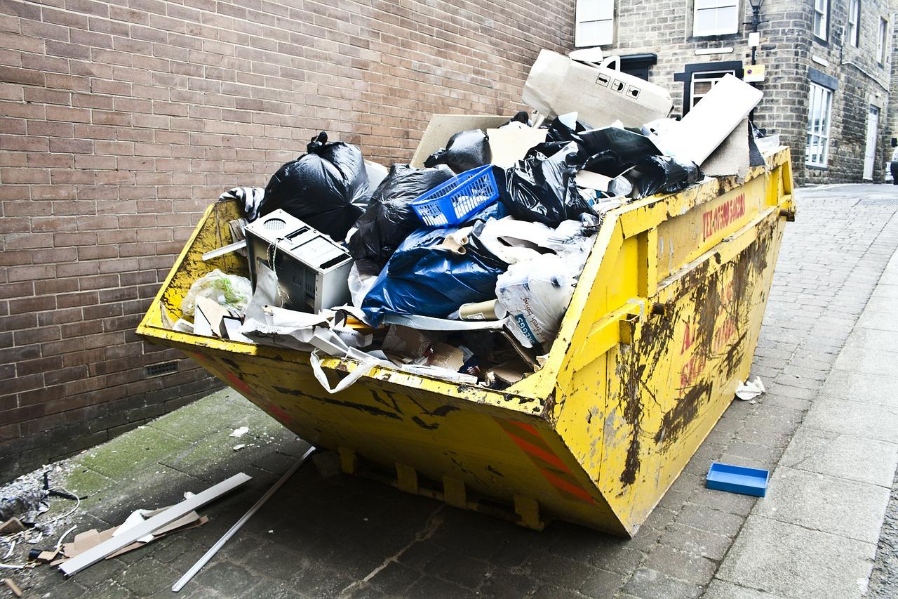 как заказать контейнер для мусора при ремонте